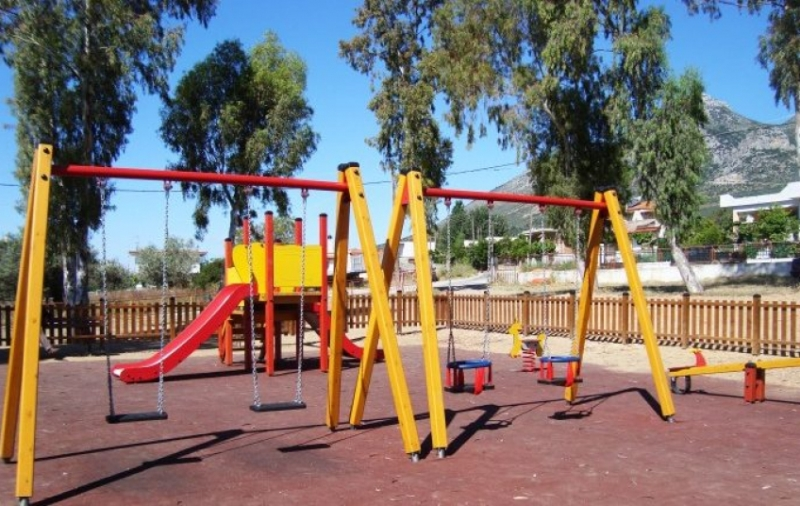 New playgrounds in the Municipality of Kassandra