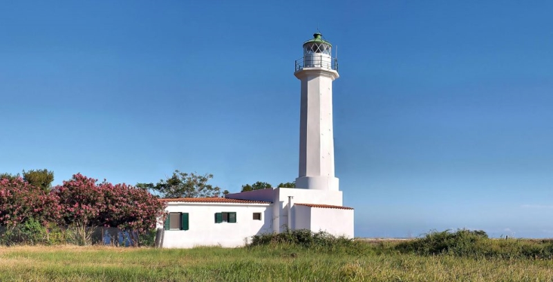 Lighthouse at Poseidi!
